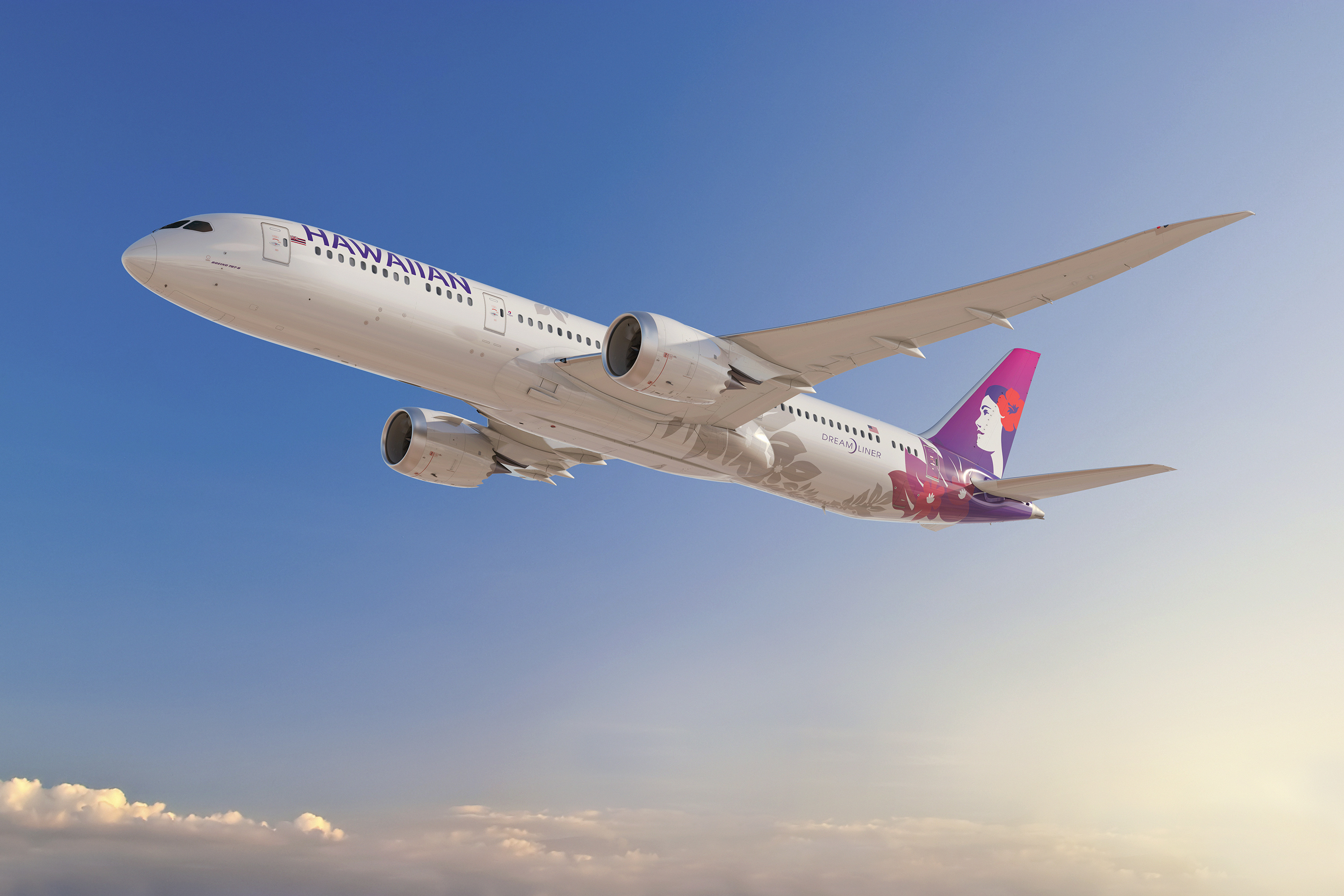 Hawaiian Airlines Dreamliner