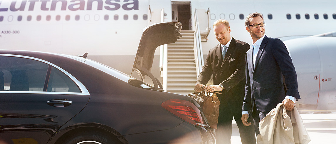 Lufthansa chauffuer service