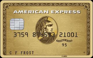 American Express Preferred Rewards Gold card