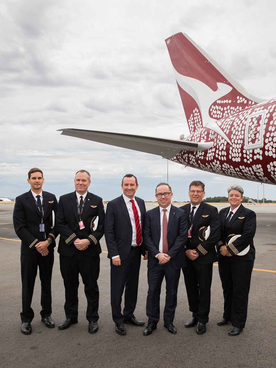 Qantas London to Perth