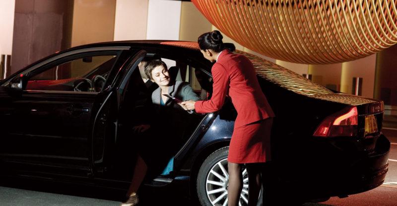 VirginAtlantic chauffeur service