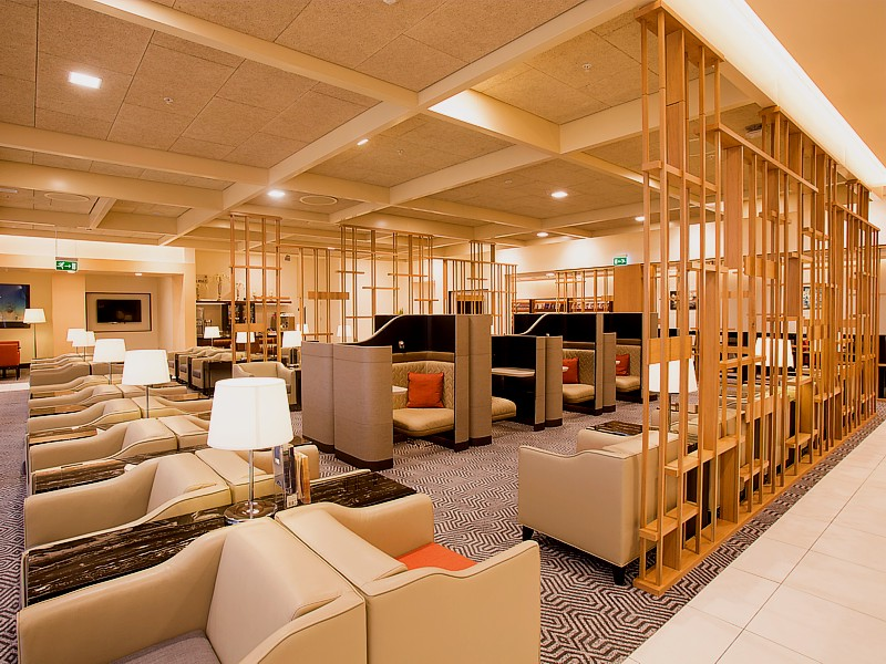 Singapore Airlines Silverkris Lounge - the best lounges at Heathrow airport