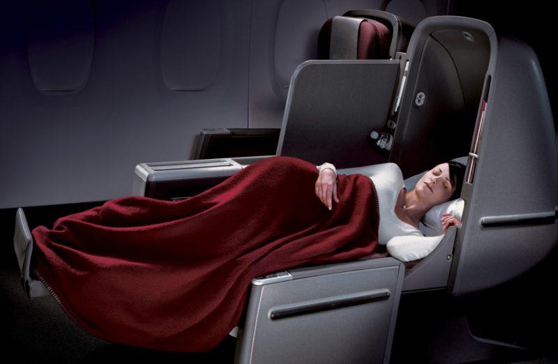 Qantas A380 Business Class - world's longest business class flights