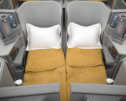 Alitalia Honeymoon Seats