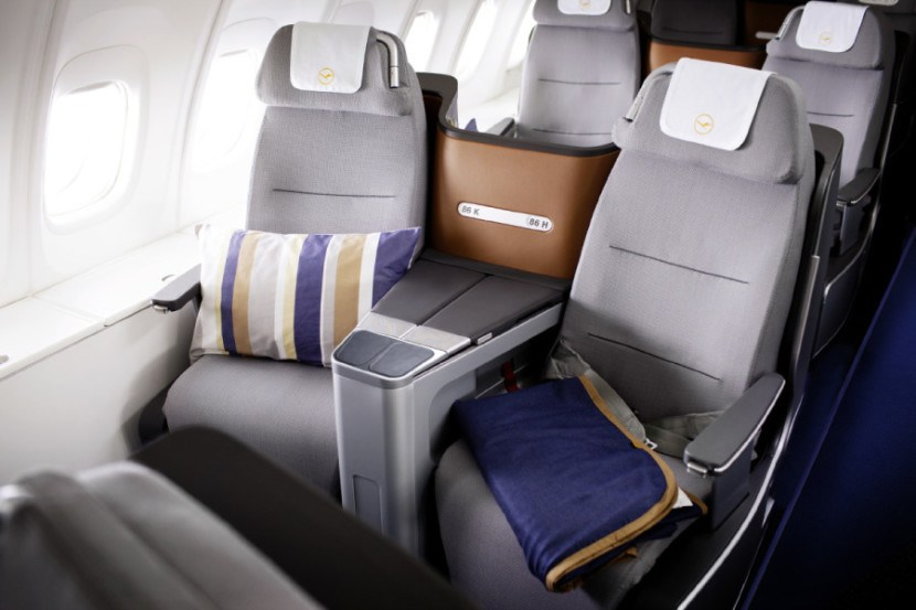 Lufthansa Business Class seats