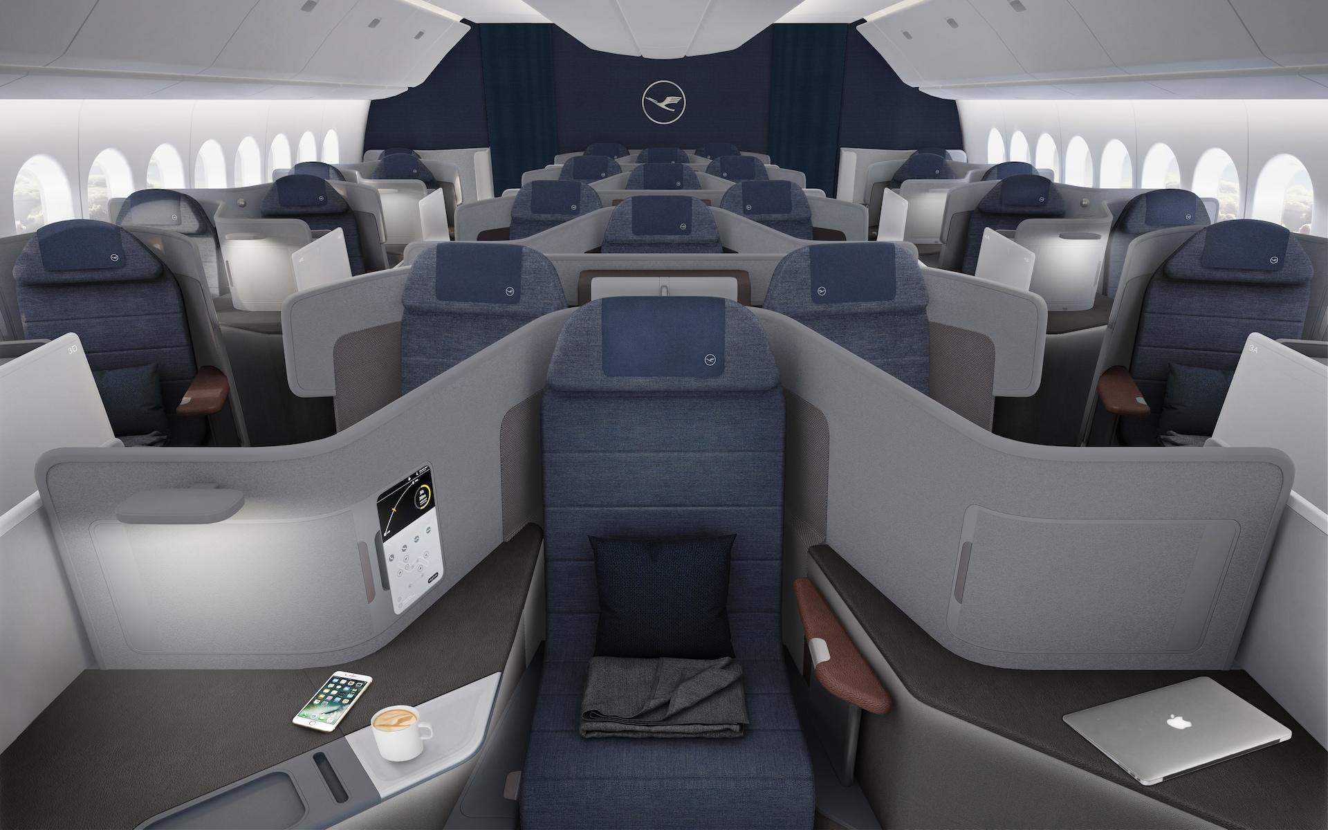 Lufthansa Throne Seat