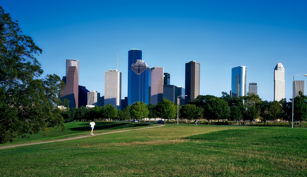 Business class flights to Houston