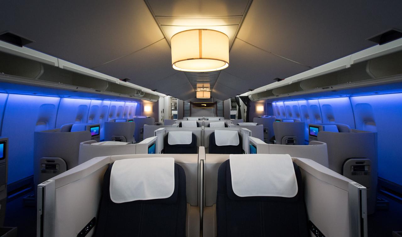 British Airways 747 Refreshed Club World