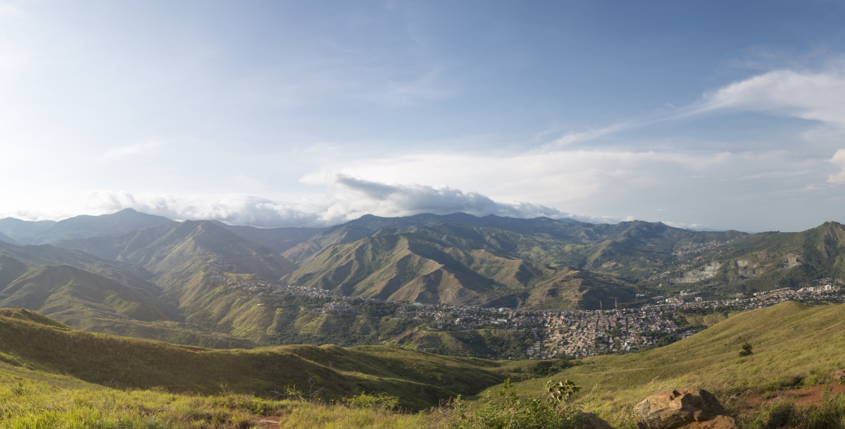 Bogota - Landscape view