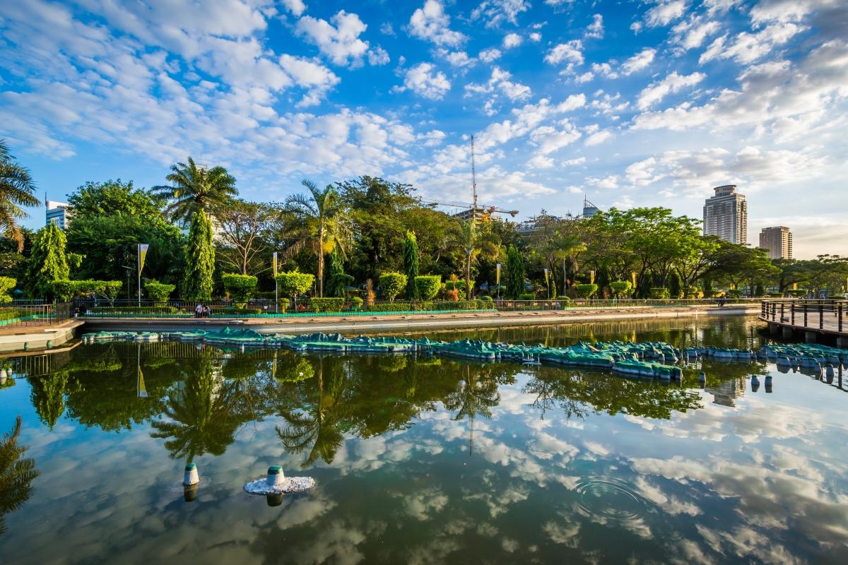 Rizal Park, in Ermita, Manila, The Philippines