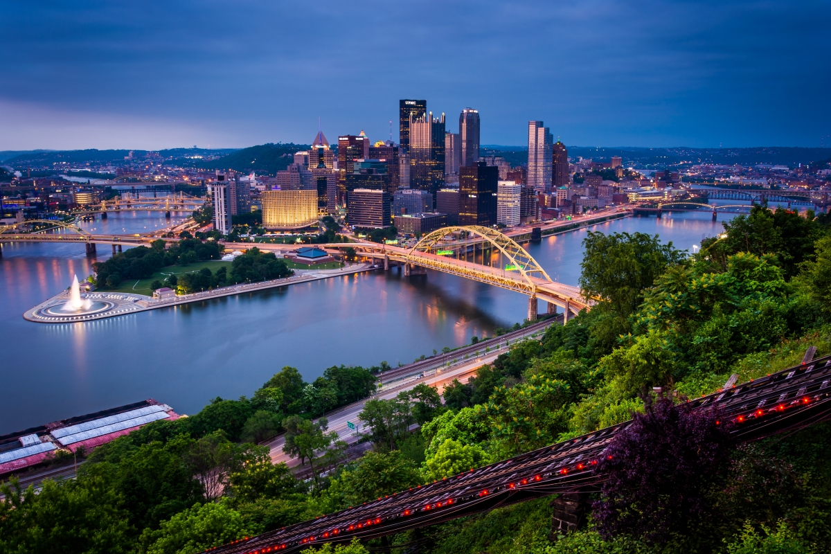 Business Class Flights To Pittsburgh