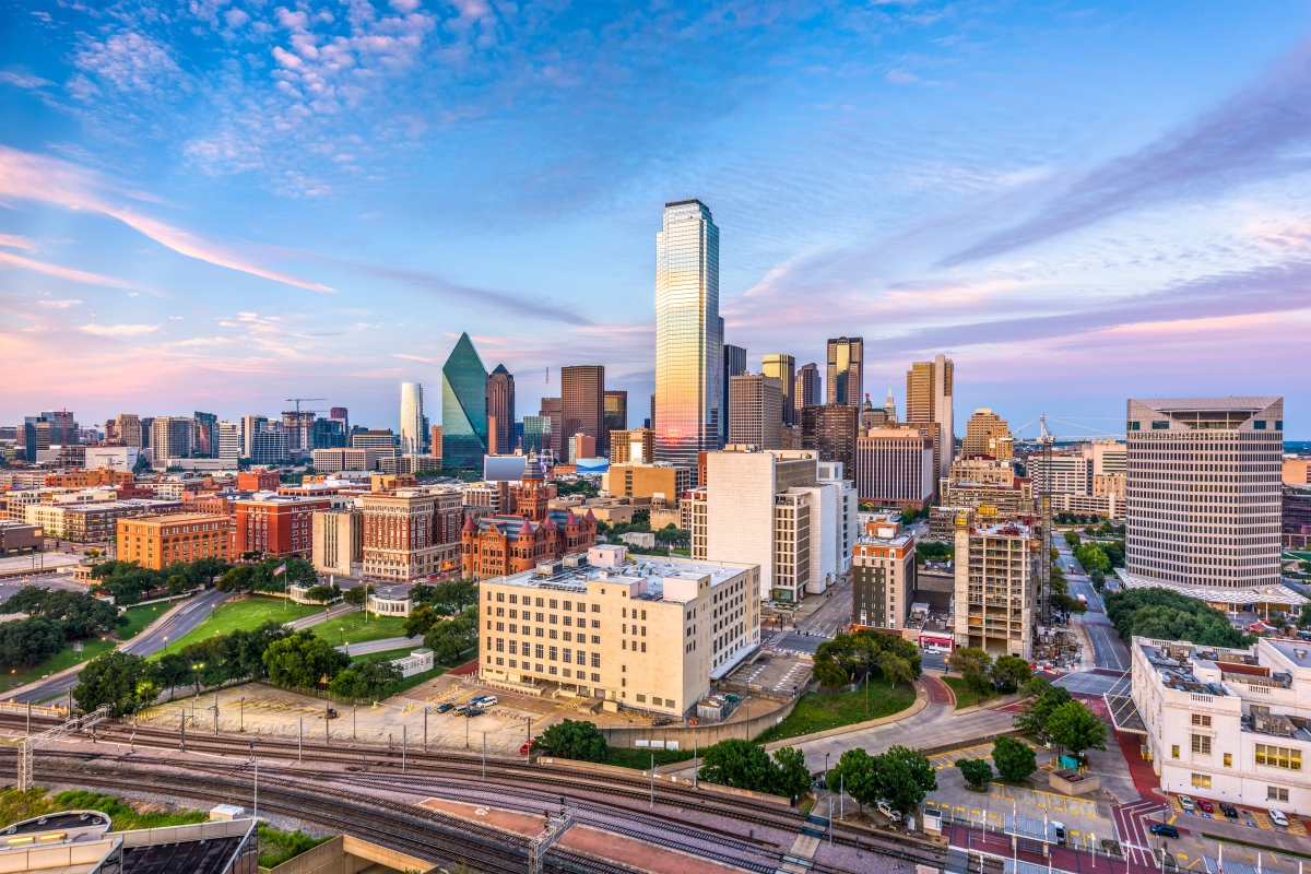 Business Class Flights to Dallas